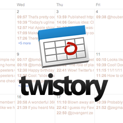 Twistory adds Google Calendar support