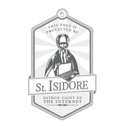 Saint Isidore protects new Leo Burnett Brussels website